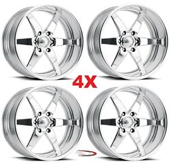 17 Pro Wheels Rims Stealth 6 Forged Billet Polished Aluminum Us Specialties Mags