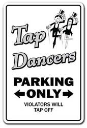 Tap Dancers Decal Dance Music Teacher Instructor Dancing Shoes Band