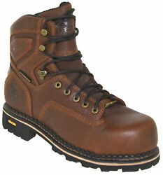 Georgia Menand039s Comfort Core Waterproof Safety Toe Logger Boot Gb00164