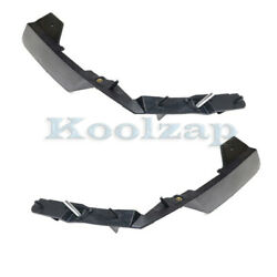 06-10 Charger Front Inner Bumper Cover Mounting Support Brace Bracket Set Pair