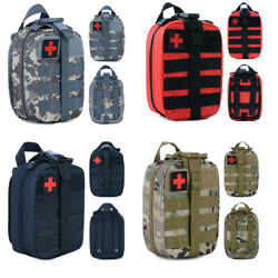 Outdoor Climbing Lifesaving Bag Tactical Medical Wild Survival Emergency Kit US
