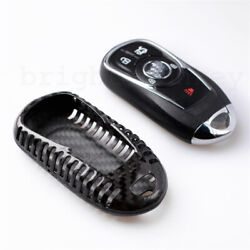 For Buick Verano Regal Lacross Encore 1pc Carbon Fiber Smart Key Case Fob Cover