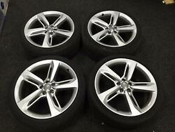 20 Genuine Audi A7 S Line Alloy Wheels And Tyres Fits Audi A5 A7