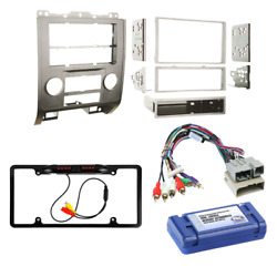 Silver Dash Car Stereo Radio Install Kit Wiring Harness For 2008-12 Ford Escape