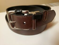 Brand New John Deere Leather Reversible Black and Brown Belt Size 38