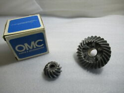 C7b Genuine Evinrude Johnson Omc 395010 Gear Set And Tag Assembly New Boat Parts