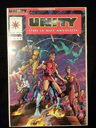 Unity Red #0 Red Cover Incentive Variant Signed By Jim Shooter w/ COA ***RARE***