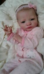 Queen's Crib Ooak Reborn Baby Girl Doll Princess  Presley Sold Out Kit