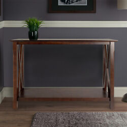Sofa Table Console Tables X-panel Wood Living Room Furniture Entryway Hall Foyer