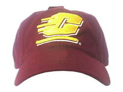 Ncaa Central Michigan Chippewas Boy Girl Adjustable Buckle Back Embroidered Hat