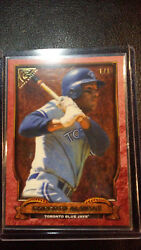 2017 Topps Gallery Roberto Alomar 11 Hall of Fame Red Border ONLY ONE IN WORLD!