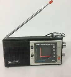 Vintage Sanyo Stereocast Japan Rp 5000 Transistor Radio. Serviced And Working