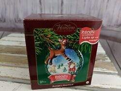 Carlton Cards Rudolph Red Nosed Reindeer 1st Crush Xmas Ornament Heirloom Collec