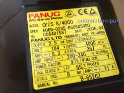 1pc Used Fanuc A06b-0235-b605s000 Tested In Good Condition