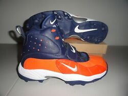 Nike Air Zoom Pro Shark Chicago Bears Menand039s Football Cleats 14 New