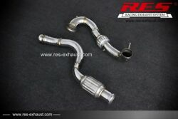 Res Cat With Cat Downpipe For Benz W176 A45amg 2014- 2.0t