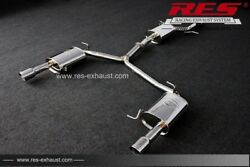 Res Catback With One Tailpipes Each Side For Audi A5 F5 2005-2012 2.0t/2.4/3.0t
