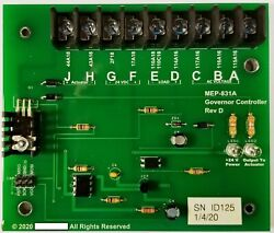 Mep-831a Governor Control Module Replaces Slc100 98-19539 Nsn 2990-01-477-1371
