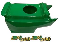 New Lower Hood And Set Of 2 Decals Replaces Am132688 M149591 Fits John Deere Lx280