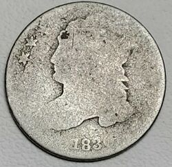 1830 Capped Bust Dime-km 48-90-free Usa Shipping-10c-ten Cents-about Good