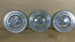 1950 Desoto Center Cap For Wire Wheels 9 Diameter Used 3-each
