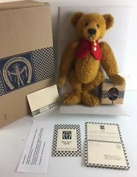 Dawson Antique Style Mohair Bear -knickerbocker Collectible Toy Co. Limited Ed