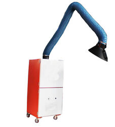 Techtongda 220v Welding Fume Extractor Mobile With A Single Suction Arm 1100w