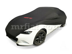 Mazda Mx-5 Nd Black Indoor Fabric Car Cover 2005-19 New