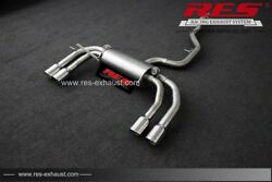 Res Valvtronic Catback +2 Tailpipes Each Side For Audi Q3 8u 2012- 1.4t/2.0t