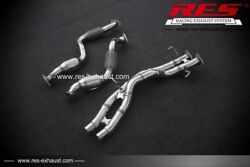 Res Racing Cat With Cat Downpipe For Audi Q7 4l 2005-2015 3.6