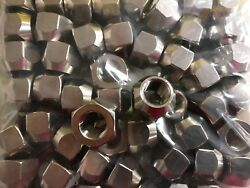 Boat Trailer Stainless Steel Lug Nuts 1/2-20 Set Of 50 Lugs 004258 Open End S/s