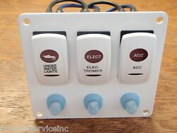 Switch Panel Underwater Lights Electronics Accessory Psbc31wh Carling V1d1 G66b