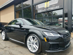 2016 Audi TT 2dr Coupe S tronic quattro 2.0T 2dr Coupe S tronic quattro 2.0T S line Sport Package  Driver Comfort Package  Na