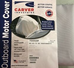 Carver 500-70002p Outboard Motor Engine Cover Up To 40hp Universal Fit 25x18x15