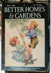 Antique July 1931 Better Homes And Gardens Magazine Great Cover And Ads