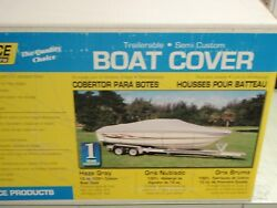 Boat Cover Vhull Runabout Outboard Boat Size 17.6ft Beam 90 97401 Motor Cover