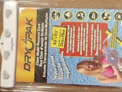 Waterproof Electronics Case Drypak 253 Dpt912w Touch Pads Wallets Maps More