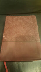 The Holy Bible King James Version, Mahogany, Leathersoft, Giant Print, Referenc