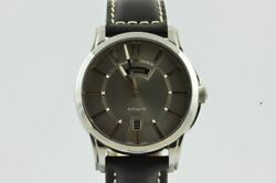 Maurice Lacroix Pontos Automatic Day Date Menand039s Watch Pt6158 Nice Condition