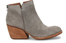 Nib Kork-ease Womenand039s Chandra Suede Ankle Booties In Grey