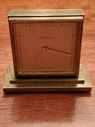 Tilden Thurber / Concord Brass Double-dialed Eight-day Desk Clock 219