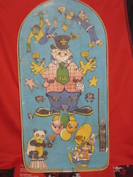 Vintage Russian Soviet Pool Pinball Game Ussr Board Child Kids Table Circus 1980