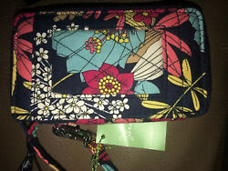 VERA BRADLEY All In One Wristlet HAPPY SNAILS New With Tags WALLET Exact item
