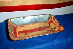 Rare Large Ortega Sterling Silver 925 Mexico Tray Dish Platter 3.71 Lbs