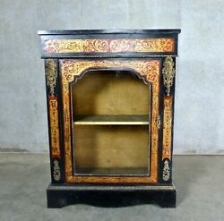 Circa 1900-1920 Boulle Style French Cabinet