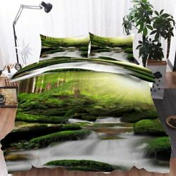 A Rowing Stream 3d Printing Duvet Quilt Doona Covers Pillow Case Bedding Sets