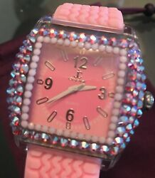 Jimmy Crystal New York Limited Edition Pink Watch Sold Out