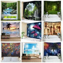 US Psychedelic Hippie Tapestry Room Wall Hanging Decor Blankets Throw Tapestries