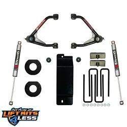 Skyjacker C14350pm 4 Upper Control Arm Lift Kit For 14-16 Gm 1500 4wd Gas