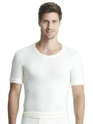 Sangora Menand039s Thermal Undervest Undershirt With Wool 8050090